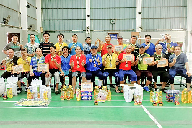 Host of awards for badminton tourney winners (2019)