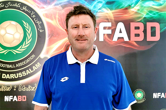 Paul Smalley appointed as new Brunei coach (2019)