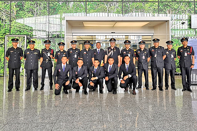 Brunei firefighters to compete in Singapore challenge (2019)