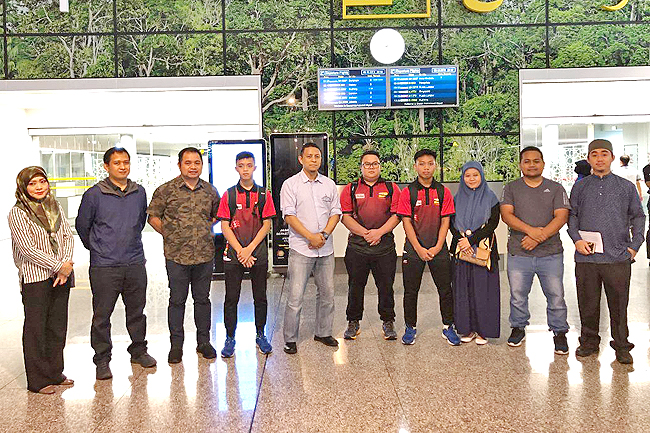 National shuttlers Indonesia bound for junior badminton meet (2019)