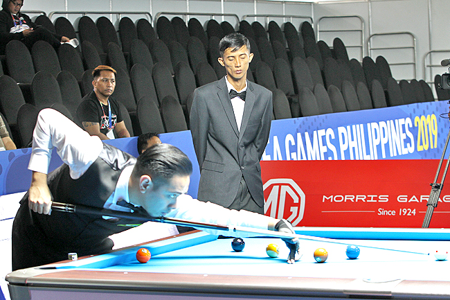 30th SEA Games 2019: Brunei's Muhammad Azim ends 9-ball campaign after Myanmar loss (2019)