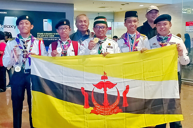 Brunei Sea Scouts grab gold medal in ASEAN Seaboree (2019)