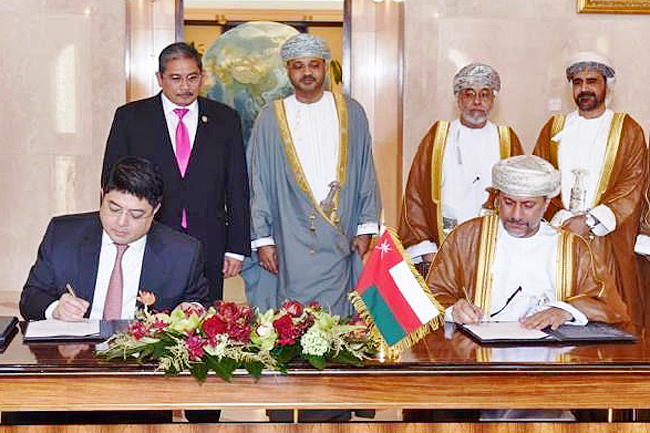 USD100M increase in capital for Oman Brunei Investment Co. (2019)