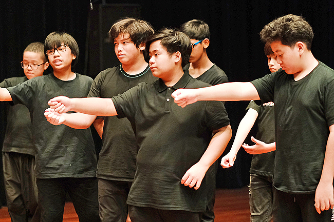 His Royal Highness Prince 'Abdul Wakeel of Brunei joins JIS drama -Shakespeare's The Tempest