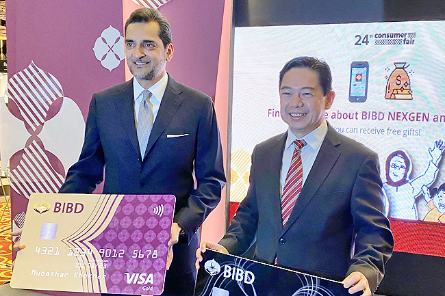 BIBD launches Visa Credit Card promotion (2020)