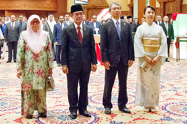 Japanese Ambassador lauds Brunei-Japan ties (2020)