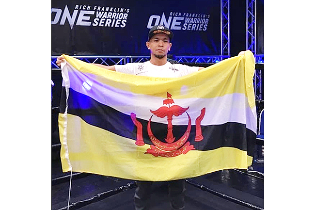 Brunei's MMA star Adib records third win in One Warrior Series (2020)