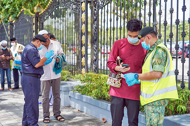 COVID-19 Brunei: Measures to improve Friday prayers coordination (2020)