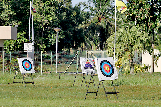 COVID-19 Brunei_De-escalation: Local archery training resumes (2020)