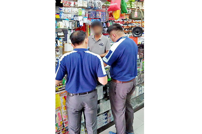 Offences detected in TAP inspections (2020)