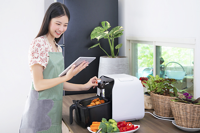 Air fryers are easy-to-use and a healthier option