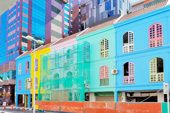 Paint job brings burst of colours to capital (2020)