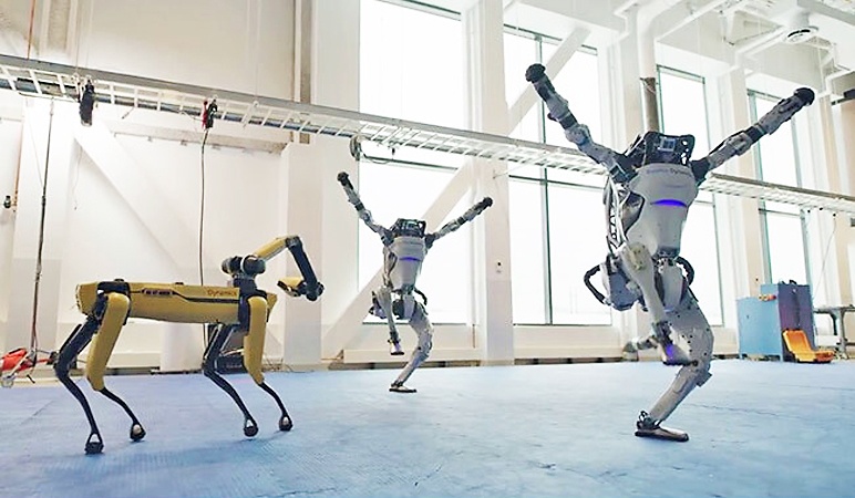 Watch Robots Dance to 'Do You Love Me,' Cool and Kinda Terrifying