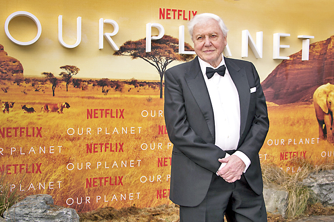 From his home, Attenborough shows viewers 'A Perfect Planet' - Borneo Bulletin Online