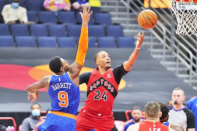 Raptors' Pascal Siakam sits vs. Knicks for disciplinary reasons